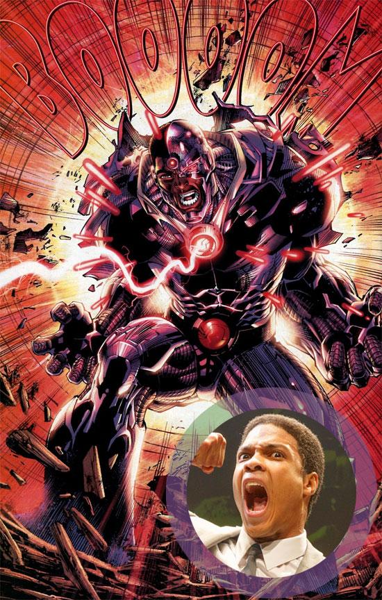 Cassius Clay, digo Ray Fisher, será Cyborg