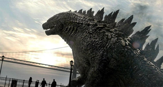 Godzilla es una bestia parda