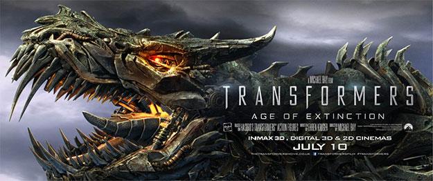 Y otro cartel más de Transformers: la era de la extinción