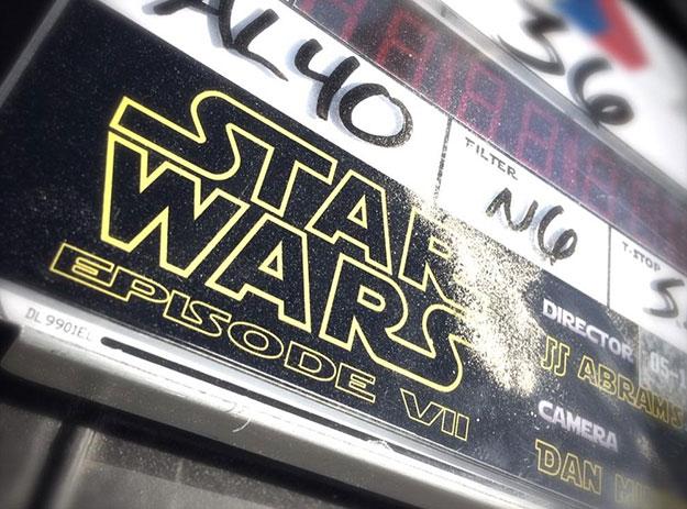 La prueba que lo confirma... se inicia el rodaje de Star Wars: Episode VII