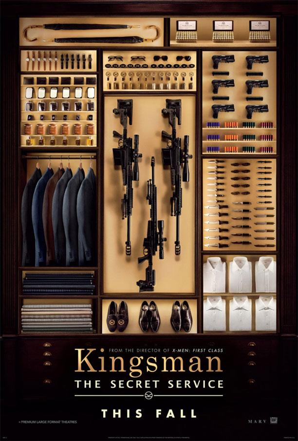 Primer cartel de Kingsman: The Secrete Service