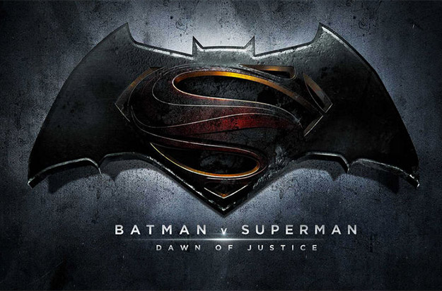 El logo oficial de Batman v Superman: Dawn of Justice