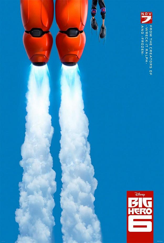 El primer cartel de Big Hero 6... mañana el trailer