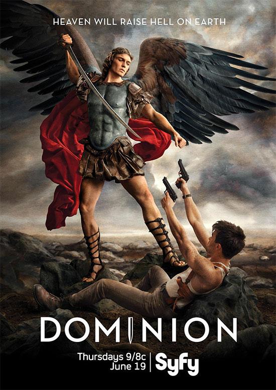 """Me ha molado este cartel de """"Dominion"""", serie del canal SyFy y secuela de Legión"""