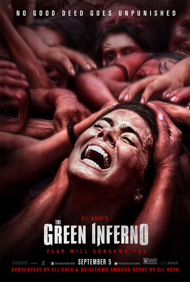 The Green Inferno by Eli Roth y su sufrida novia Lorenza Izzo