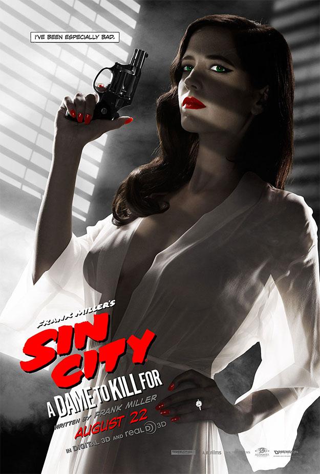 ¡Por culpa de este cartel de Sin City: A Dame to Kill For en USA a muchos se les secaron los ojos!