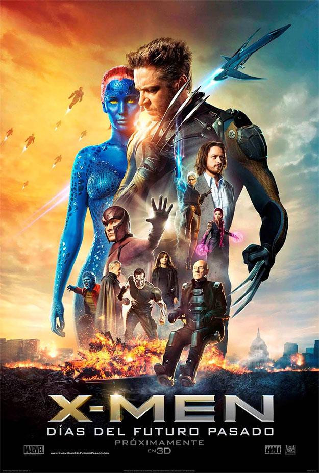 El cartel final español de X-Men: Días del Futuro Pasado