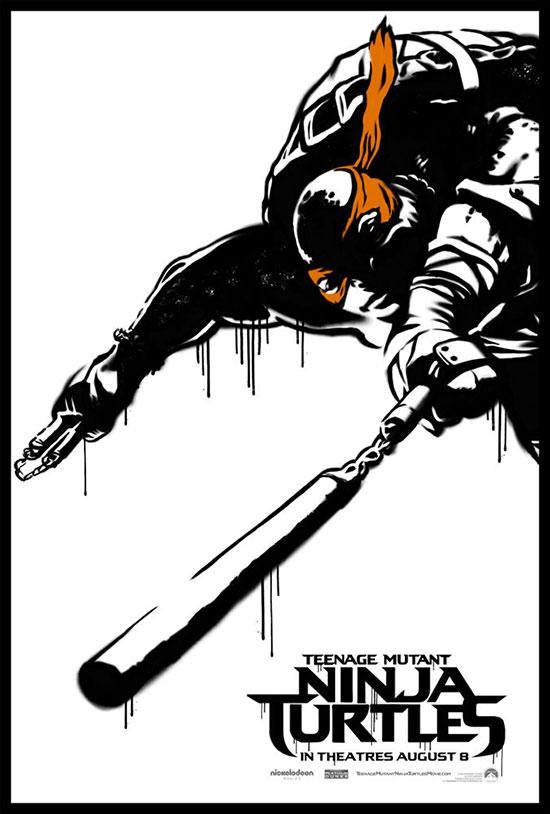 Nuevo cartel de Teenage Mutan Ninja Turtles