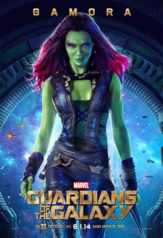 Gamora, diosa de los Guardianes de la Galaxia