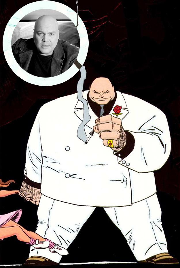 A Vincent D'Onofrio se le pondrá cara de Kingpin en Daredevil