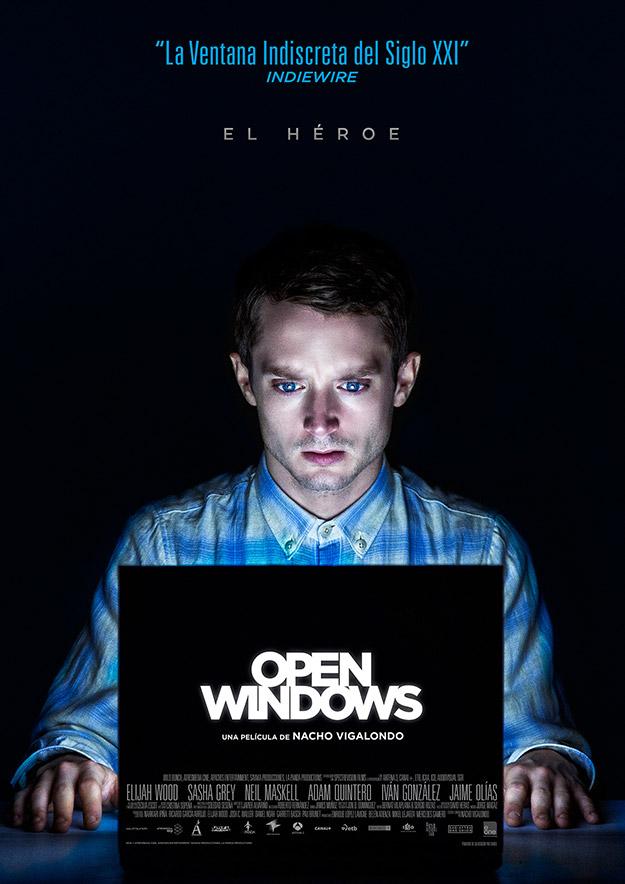 Elijah Wood protagoniza el nuevo cartel de Open Windows