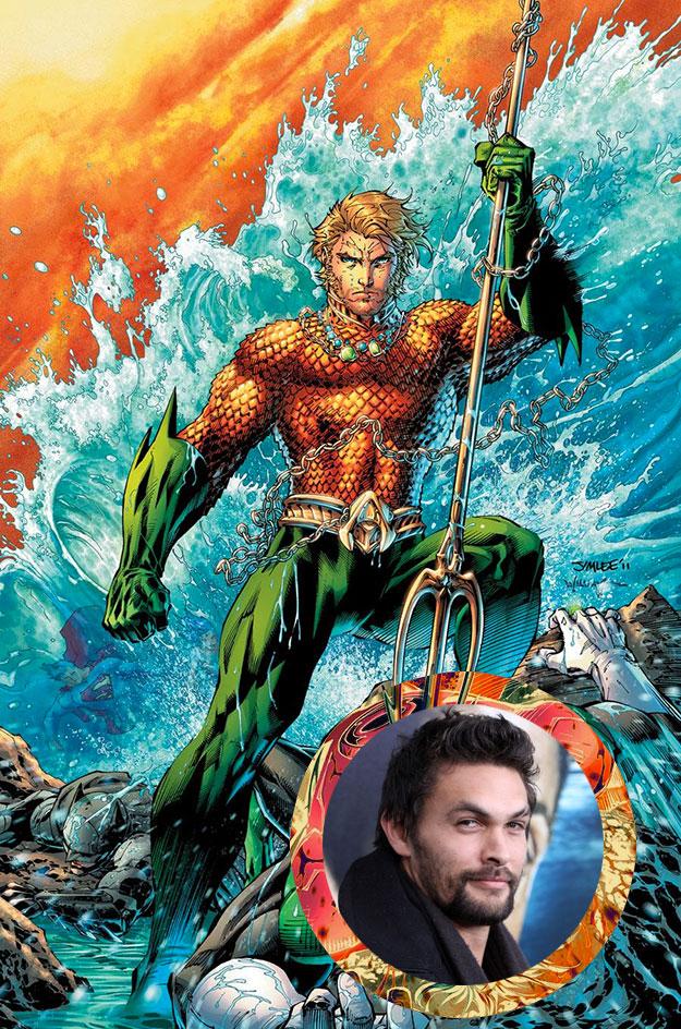 Jason Momoa el elegido para ser Aquaman
