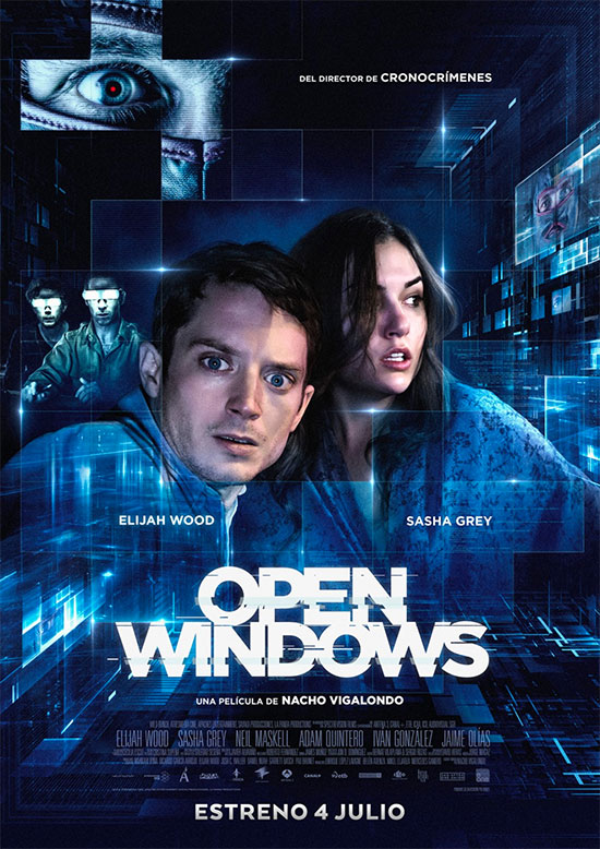 Un nuevo cartel de Open Windows de Nacho Vigalondo