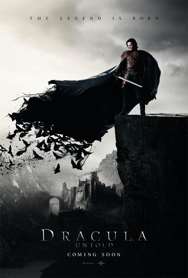 El primer cartel de Dracula Untold AKA Drácula: la leyenda jamás contada