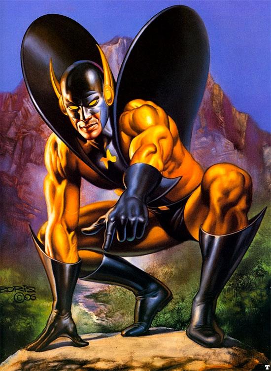 Yellowjacket o Chaqueta Amarilla... ¿un villano creíble en Ant-Man?