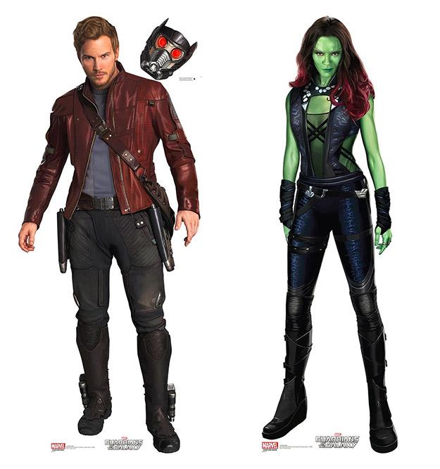 Star-Lord y Gamora, algo más que amigos en Guardianes de la Galaxia