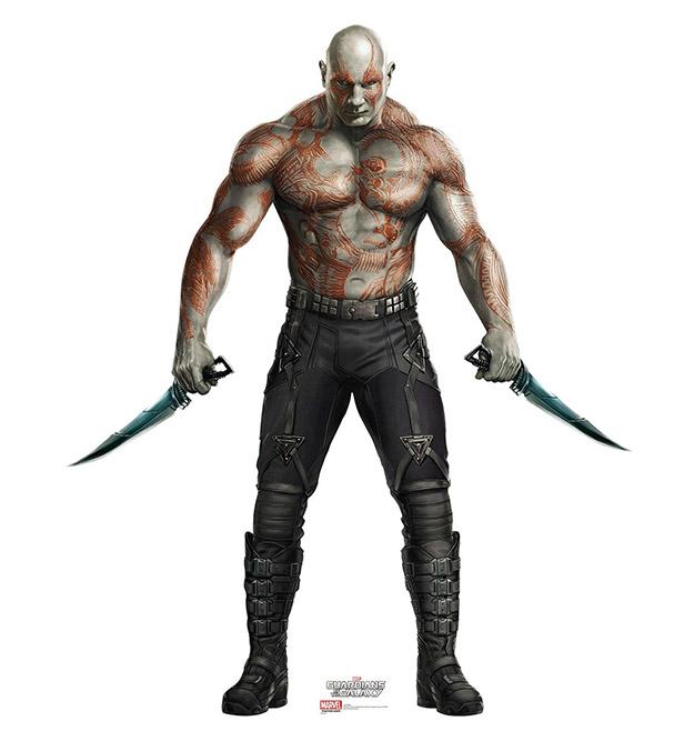 Drax el Destructor, bestia parda