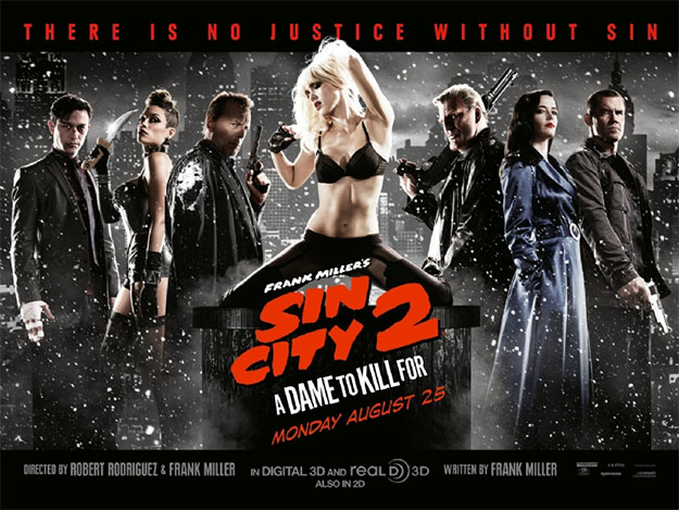 El nuevo cartel de Sin City: A Dame to Kill For vía Empire