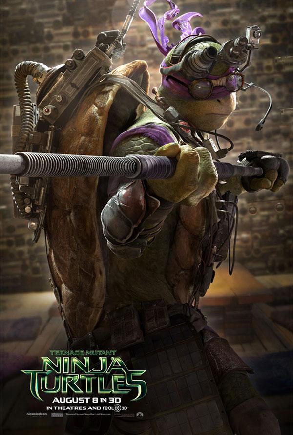 El turno del inteligente del equipo... Donatello el rey de los cachivaches