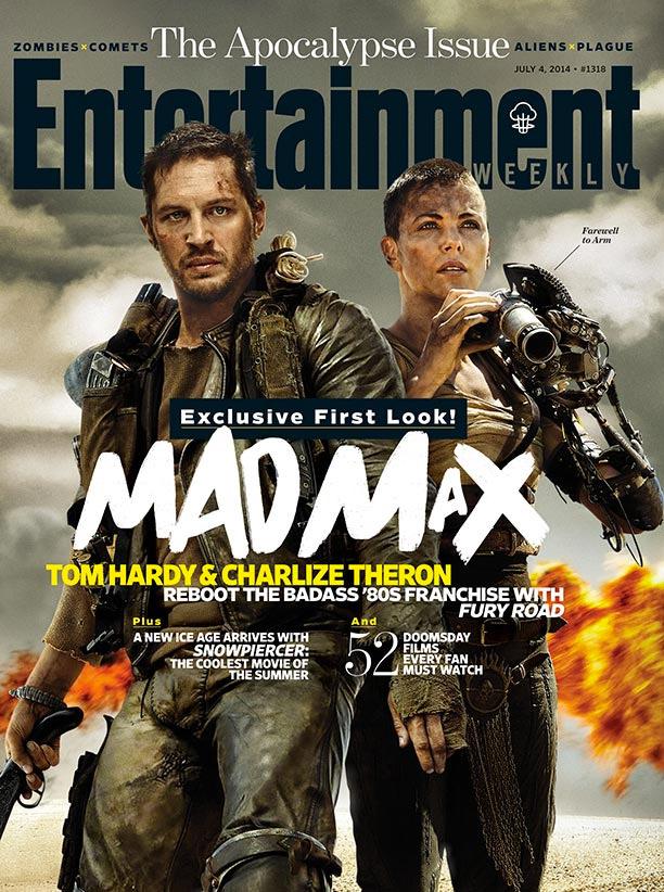 Tom Hardy y Charlize Theron, Mad Max y Furiosa... Mad Max: Fury Road al fin!