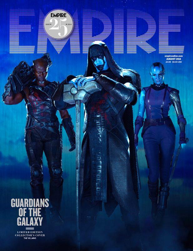 Chula portada de Guardianes de la Galaxia con los villanos...