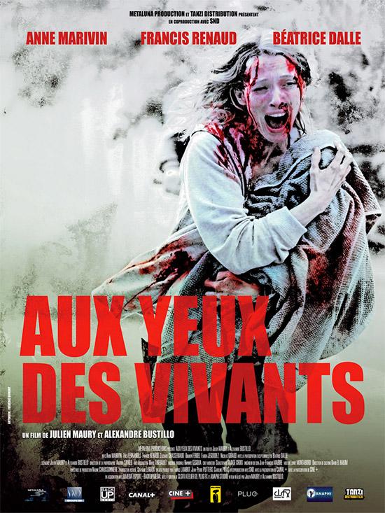 El cartel de Aux Yeux Des Vivants de Maury y Bustillo