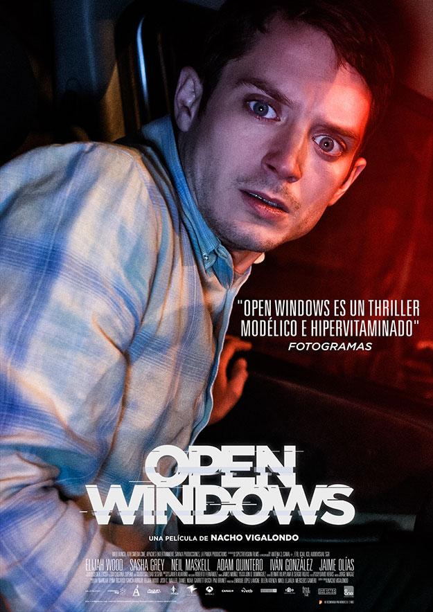 Elijah Wood, el Nick Chambers de Open Windows