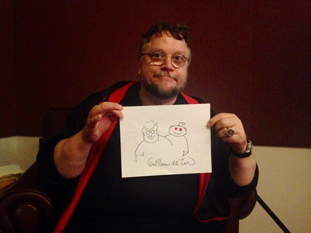 Guillermo del Toro visita Reedit