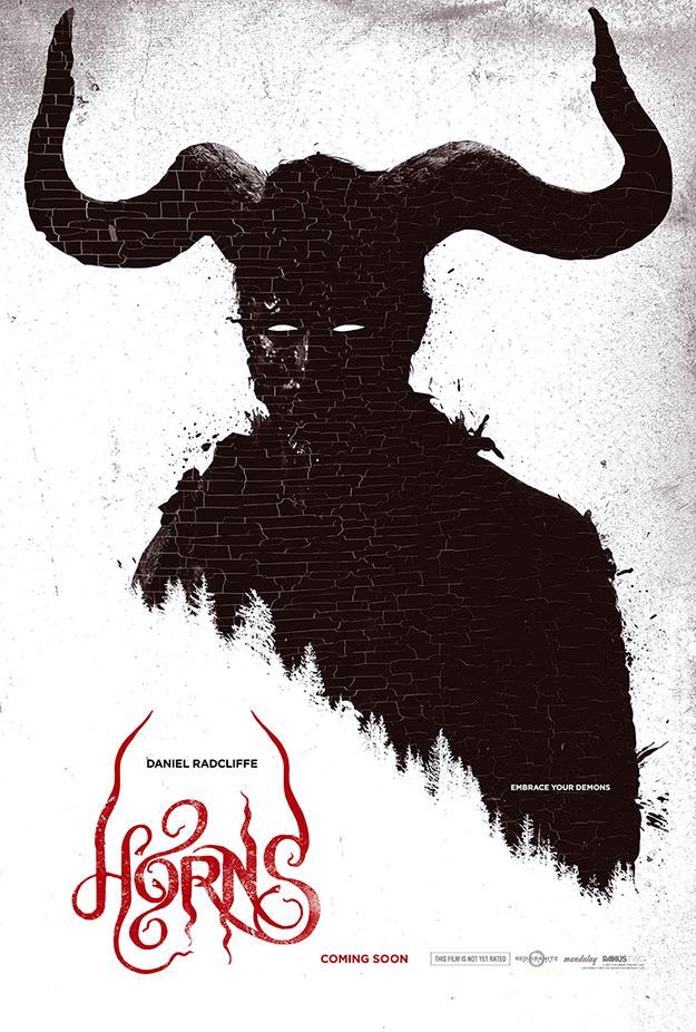 Fabuloso cartel de Horns de Alexander Aja