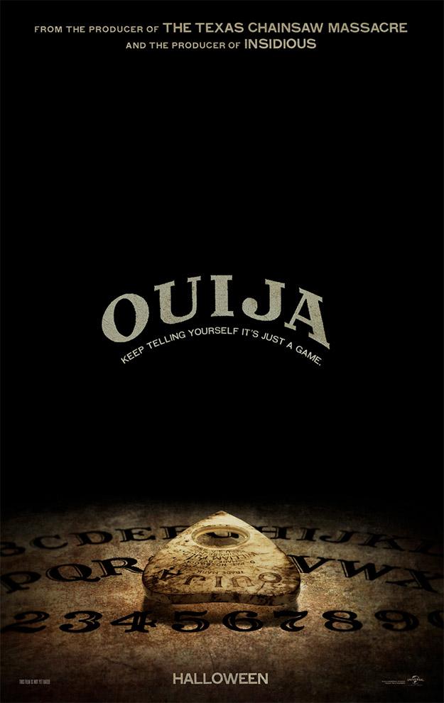 Hay cosas con las que no merece la pena jugar... la Ouija es una de ellas