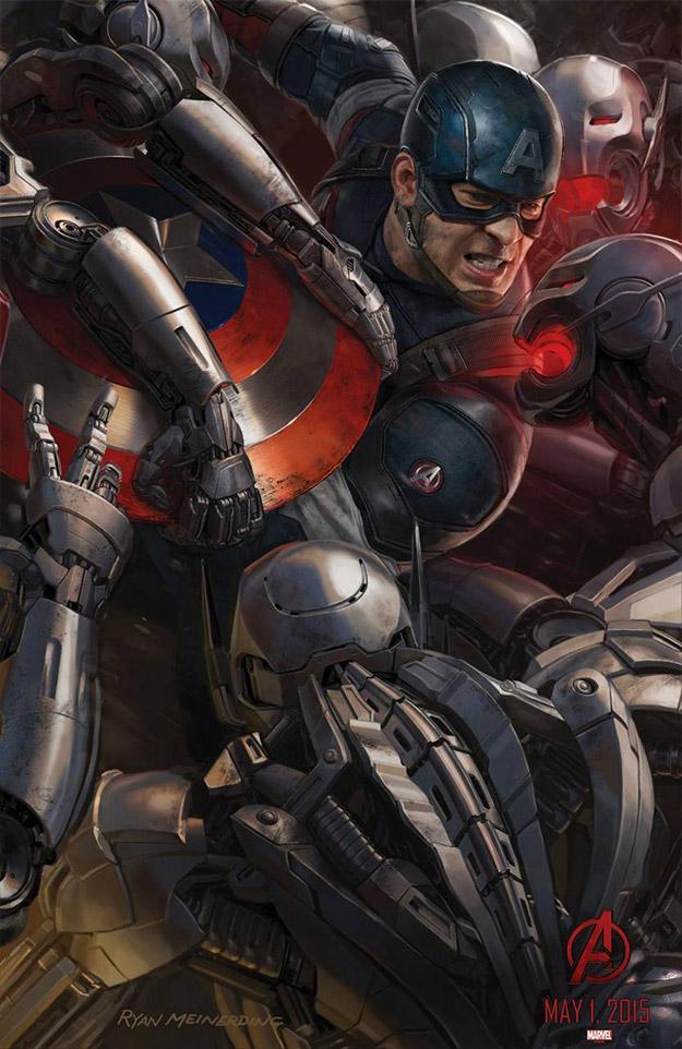 Cartel del Capitán América para la Comic-Con 2014