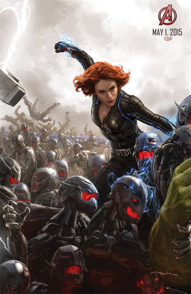 Cartel de la Viuda Negra para la Comic-Con 2014