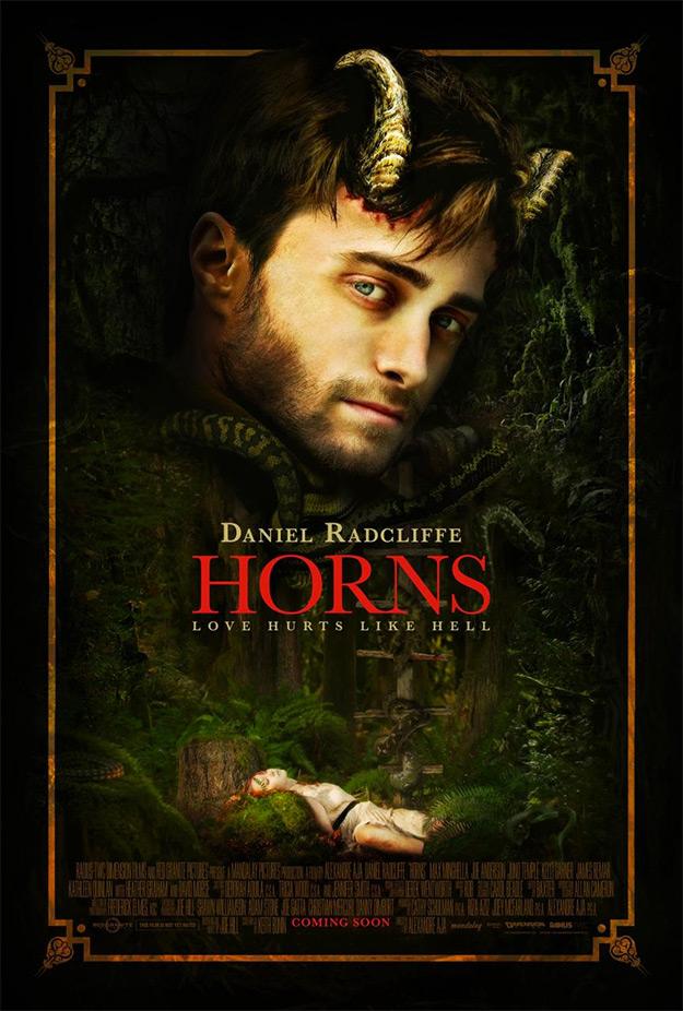 El nuevo cartel para la Comic-Con 2014 de Horns