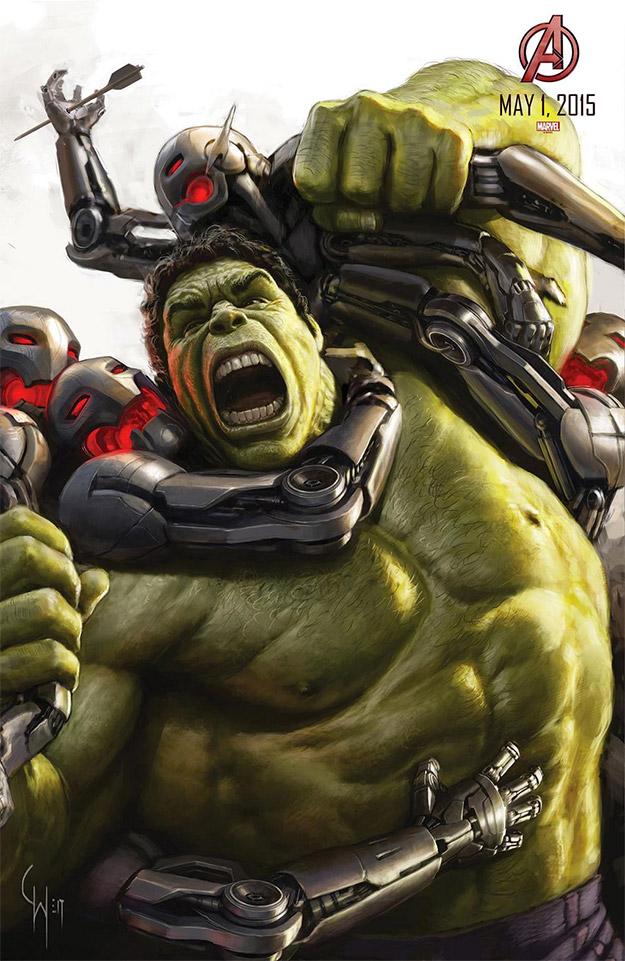 Hulk versus Ultrones