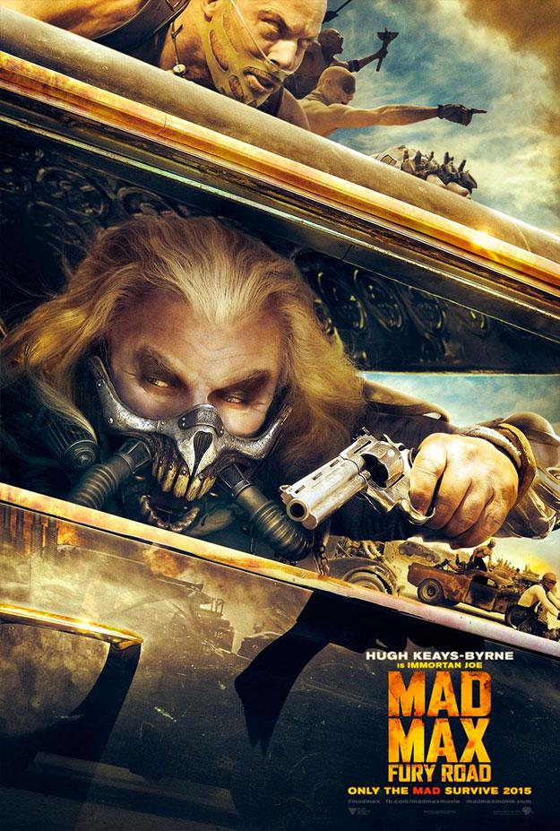 Uno de los carteles de Mad Max: Furia en la Carretera