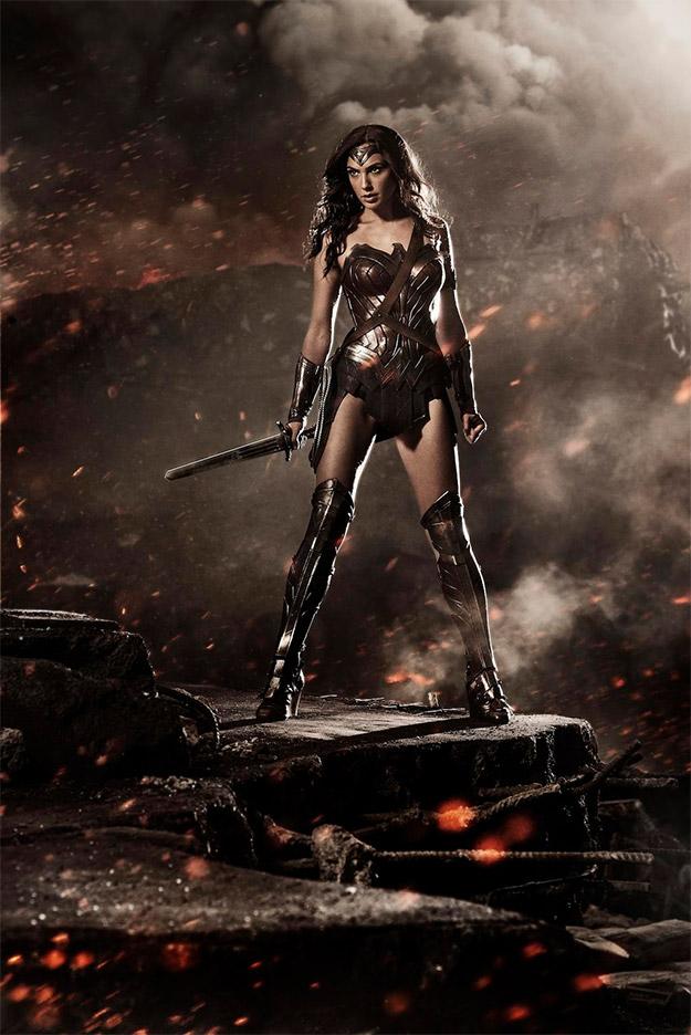 Gal Gadot como Wonder Woman