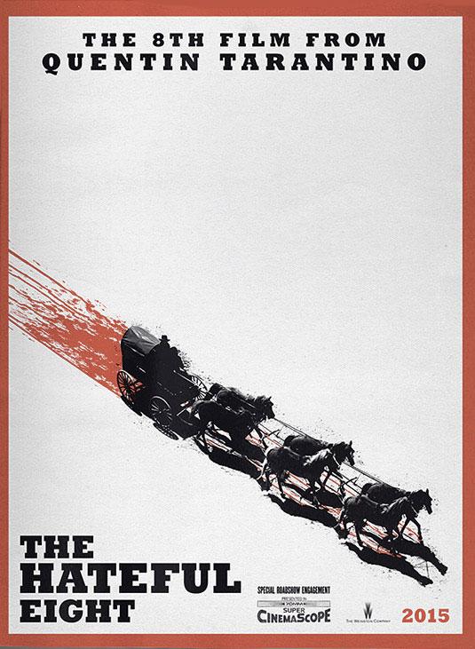 El primer cartel de The Hateful Eight de Quentin Tarantino