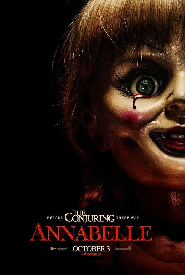 La puñetera muñeca Annabelle, no la quiero ni regalada