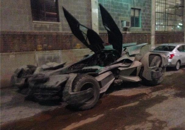 El nuevo Batmóvil de Batman v Superman: Dawn of Justice