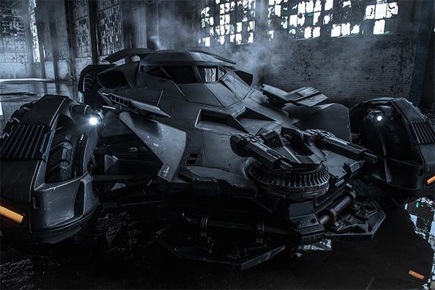 El Batmóvil de Batman v Superman: Dawn of Justice