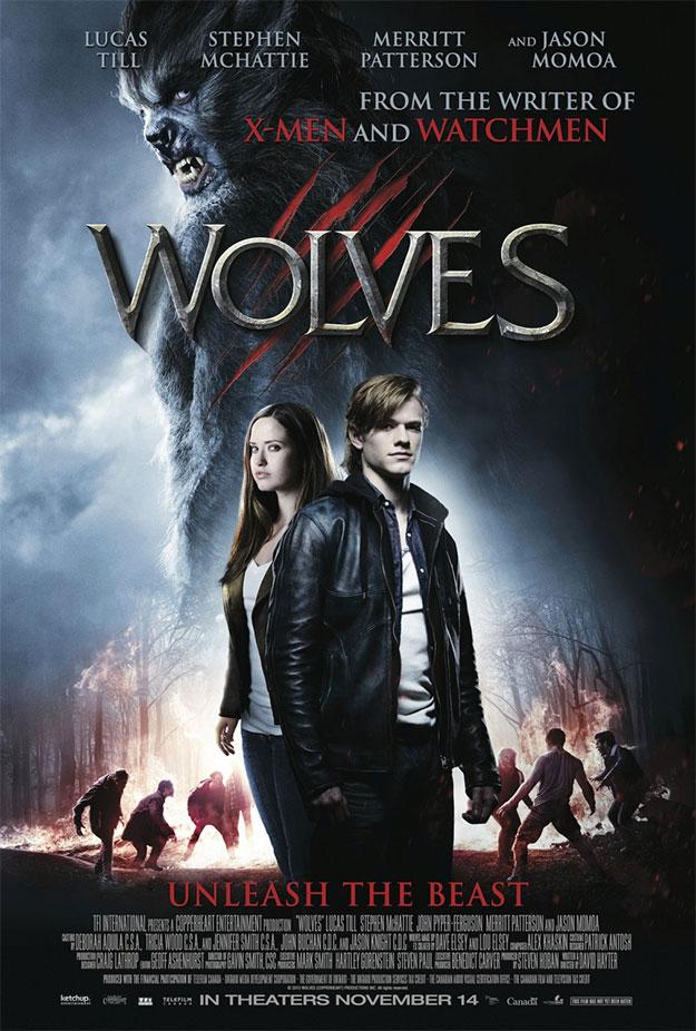 El primer cartel de Wolves de David Hayter