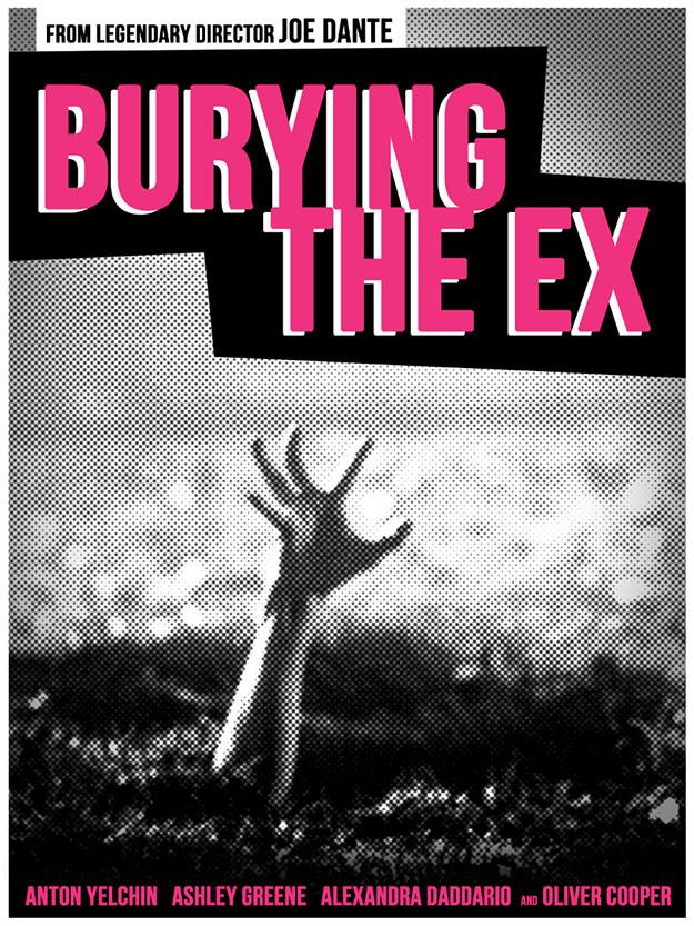 Cartelillo de Burying the Ex de Joe Dante