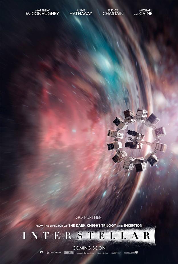 Más lejos imposible en el nuevo cartel de Interstellar
