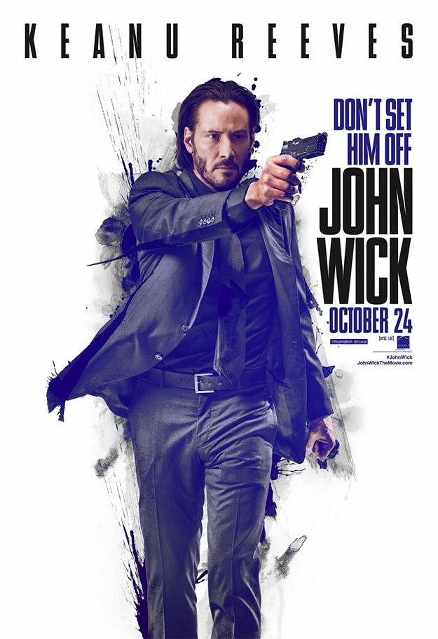 Un nuevo cartel de John Wick... ojo que Keanu va a molar