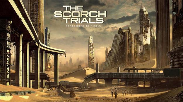 Primer detalle gráfico, o concept art, de The Scorch Trials
