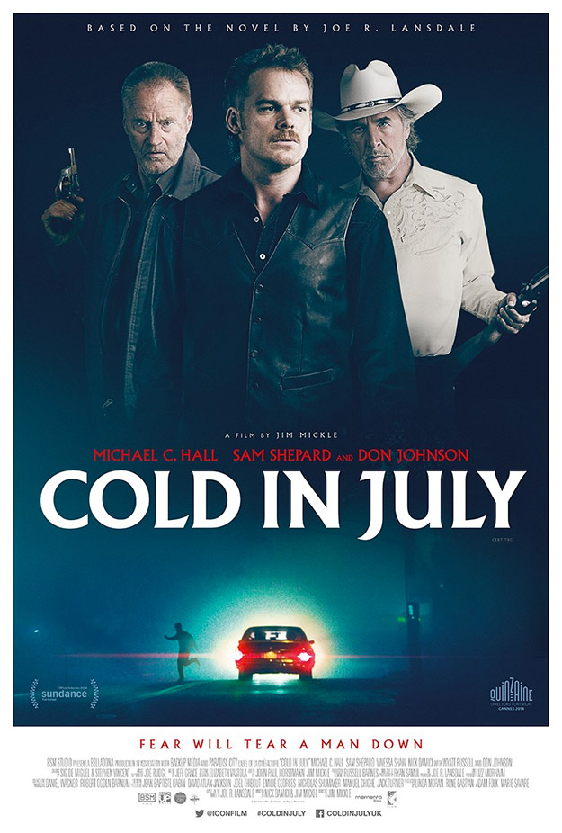 Cartel de Cold in July