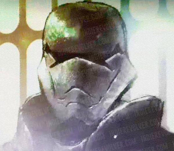 Concept art de ese supuesto Chrome Trooper que podría aparecer Star Wars: Episode VII