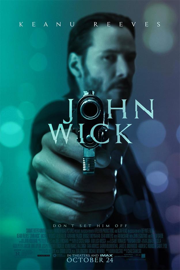 """John Wick te lo dice apuntándote a la cara... """"no me toques las pelotas"""""""