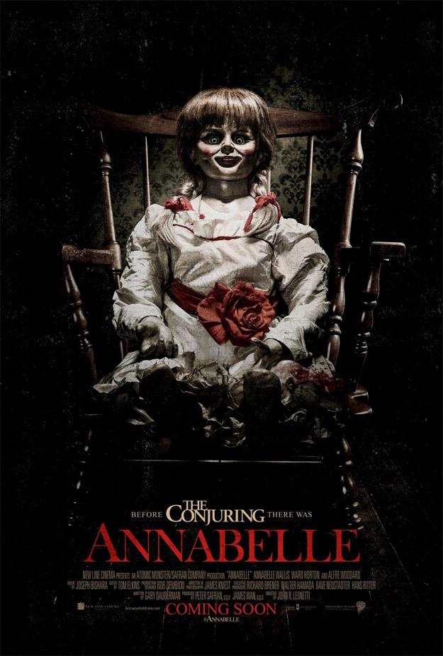Cartel de Annabelle, la muñeca con truco