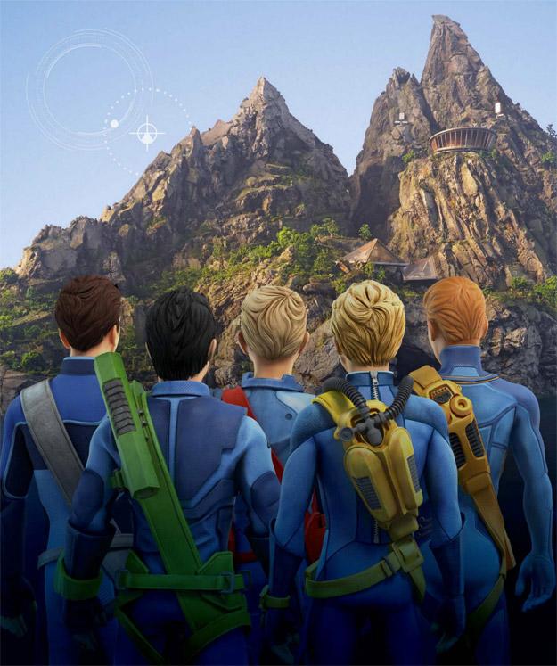 Los nuevos Thunderbirds AKA Los guardianes del espacio! (o sus espaldas)